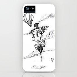 Flying Skull iPhone Case