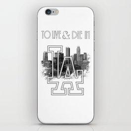 To Live & Die In L.A. iPhone Skin