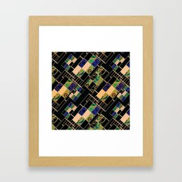 Creative patchwork. Framed Art Print
