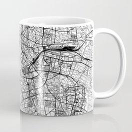 Munich White Map Coffee Mug