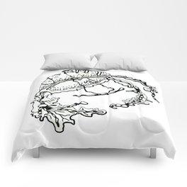 Medumazged Beverage Beastie Comforters