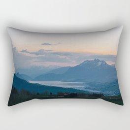 Lake View Rectangular Pillow