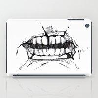 teeth iPad Cases featuring Teeth by Tanya_Vazh