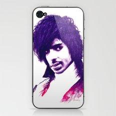 Prince In Purple iPhone & iPod Skin