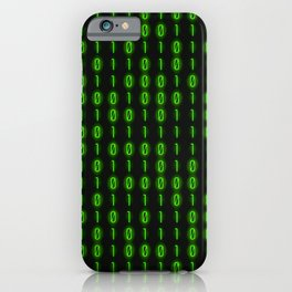 Binary Code Inside iPhone Case