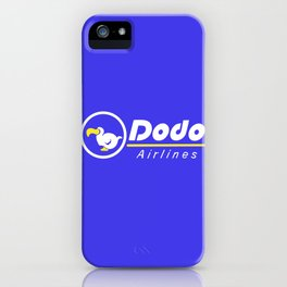 dal dodo airline ac animal crossing iPhone Case