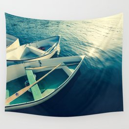 On the Water - Boats Wall Tapestry