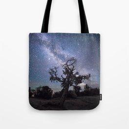 Astronomer's Tree Tote Bag