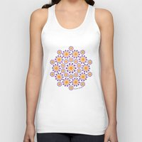 sun and moon Tank Tops featuring Sun, Moon and Stars by artsytoocreations
