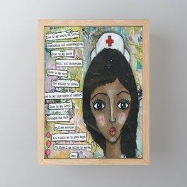 Nurse - African American  Framed Mini Art Print
