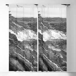 Yellowstone River At Lava Creek Blackout Curtain