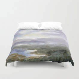 From Here to There Duvet Cover