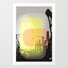 Sunset seventixx Art Print