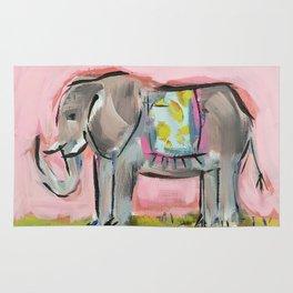 Elated Elephant Rug