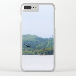 Tropical Life Clear iPhone Case