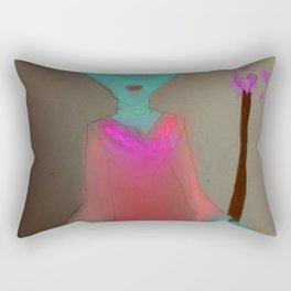 The Goblin Queen Rectangular Pillow