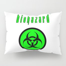 biohazard Pillow Sham