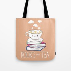 Books + Tea Tote Bag