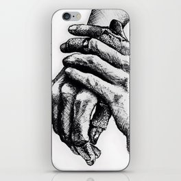 Wounded iPhone Skin