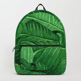 Banana leaves Tropical Backpack
