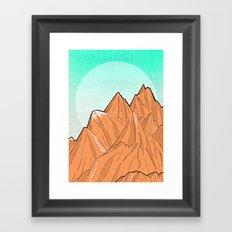 Sand Mountain Framed Art Print