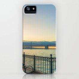 Morning at Pier 7 iPhone Case