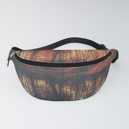 Where are you? Autumn Fall - Autumnal forest Fanny Pack