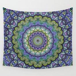 Purple n' Green Machine - Mandala Art Wall Tapestry