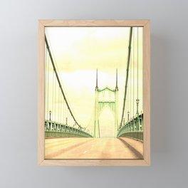 ST JOHNS BRIDGE Framed Mini Art Print