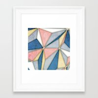 prism Framed Art Prints featuring Prism by Daniel T.