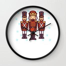 Nutcracker Squad Ballet dancer ballerina gift Wall Clock