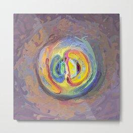 Abstract Mandala 7 Metal Print