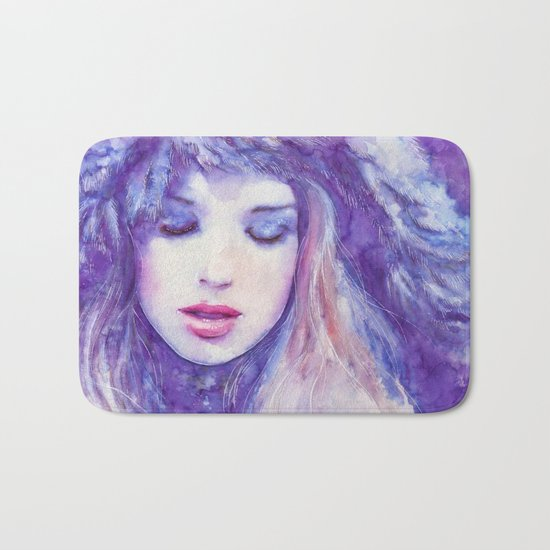 Song to the skies Bath Mat