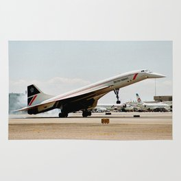 British Airways Concorde Landing Rug