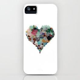 Love - Original Sea Glass Heart iPhone Case