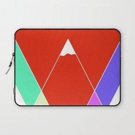 Mountain Geometry Laptop Sleeve
