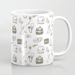 Dr Fluffton's exotics day Grey and White Coffee Mug