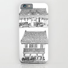 Southeast Asia Sketches: French Colonial Architecture; Laos Slim Case iPhone 6s