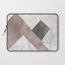 Rose grunge - mountains Laptop Sleeve