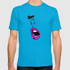 Intermission Mens Fitted Tee SMALL Teal