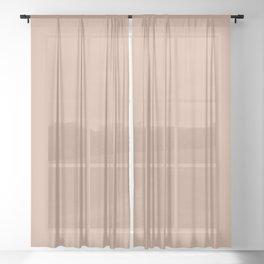 Latte Sheer Curtain