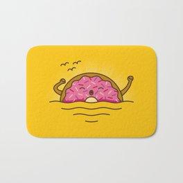 Good morning! - Cute Doodles Bath Mat