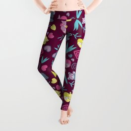 Cute Red Pandas Pattern Leggings