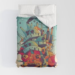 Moving Castle Duvet Cover