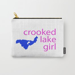 Crooked Lake girl Carry-All Pouch