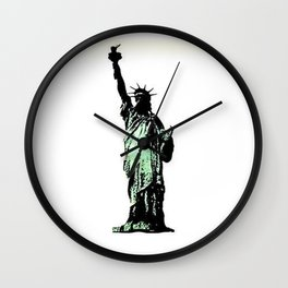 Pop On Over Wall Clock