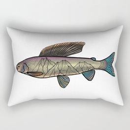 Arctic Grayling Rectangular Pillow