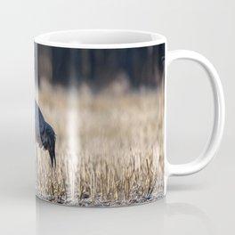 Eurasian crane Coffee Mug