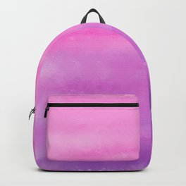 Sunset Clouds Abstract Backpack