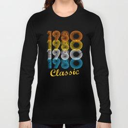 37th Birthday Gift Vintage 1980 T-Shirt for Men & Women T-Shirts and Hoodies Long Sleeve T-shirt